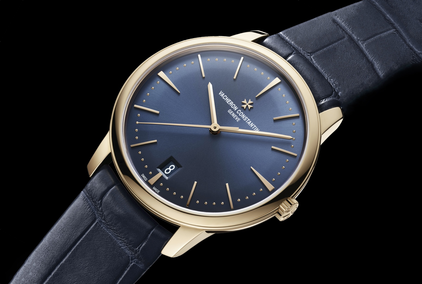 Vacheron Constantin Patrimony Automatic Midnight Blue - Mens