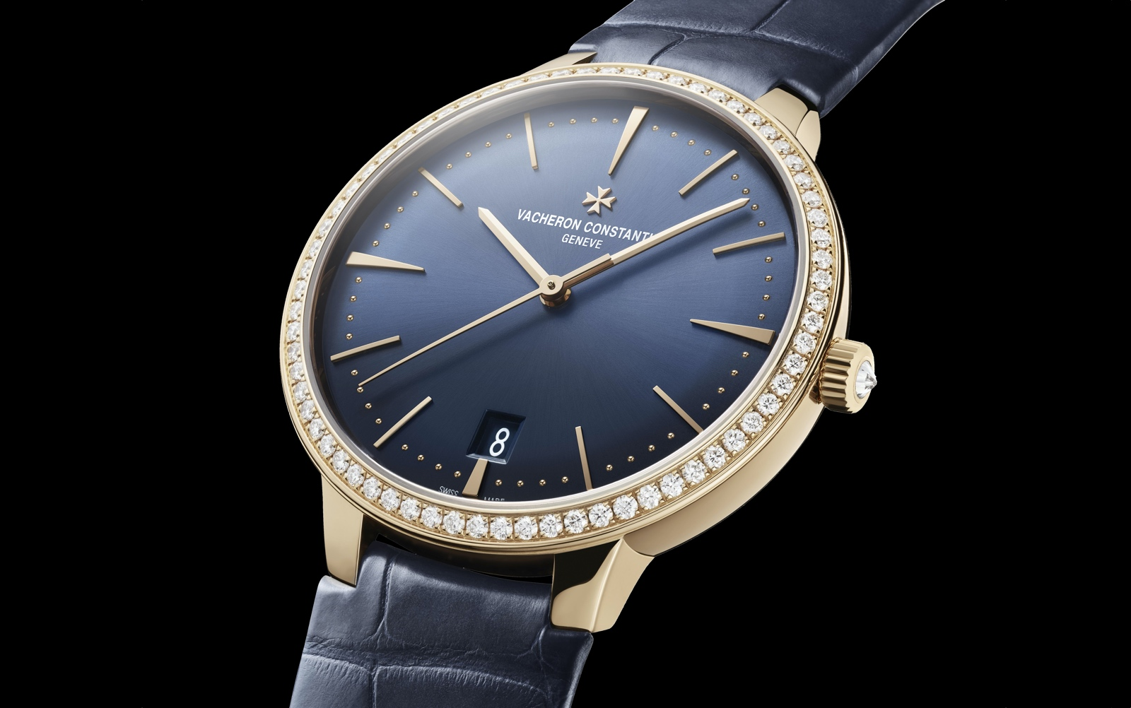 Vacheron Constantin Patrimony Automatic Midnight Blue - Ladies