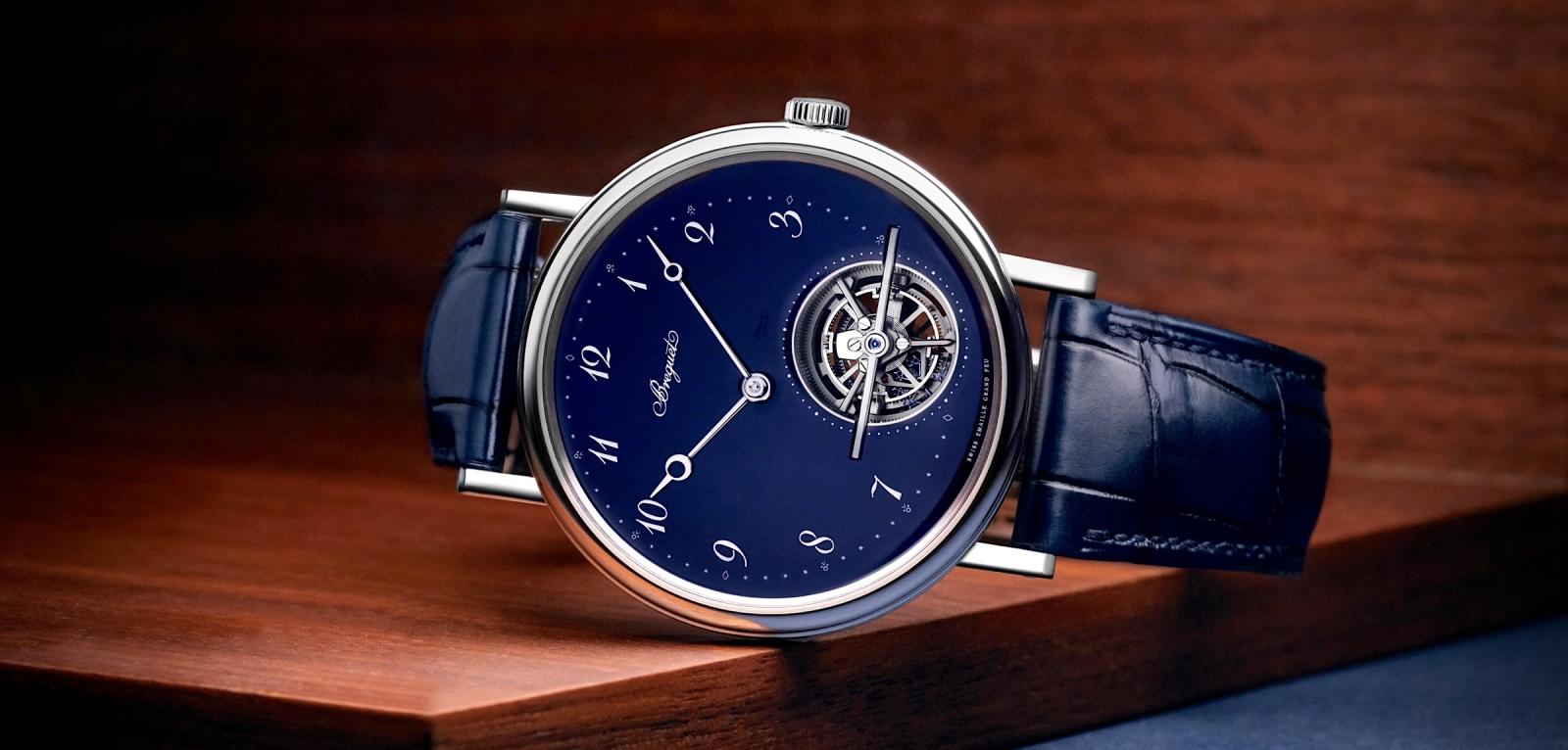 Breguet Classique Tourbillon Extra-Plat Automatique 5367 Blue