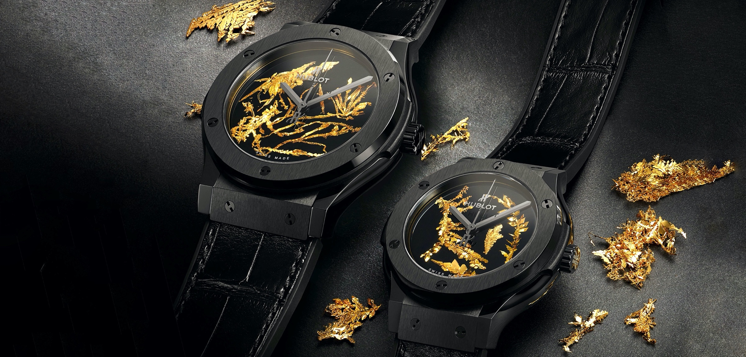 Hublot Classic Fusion Gold Crystal - cover