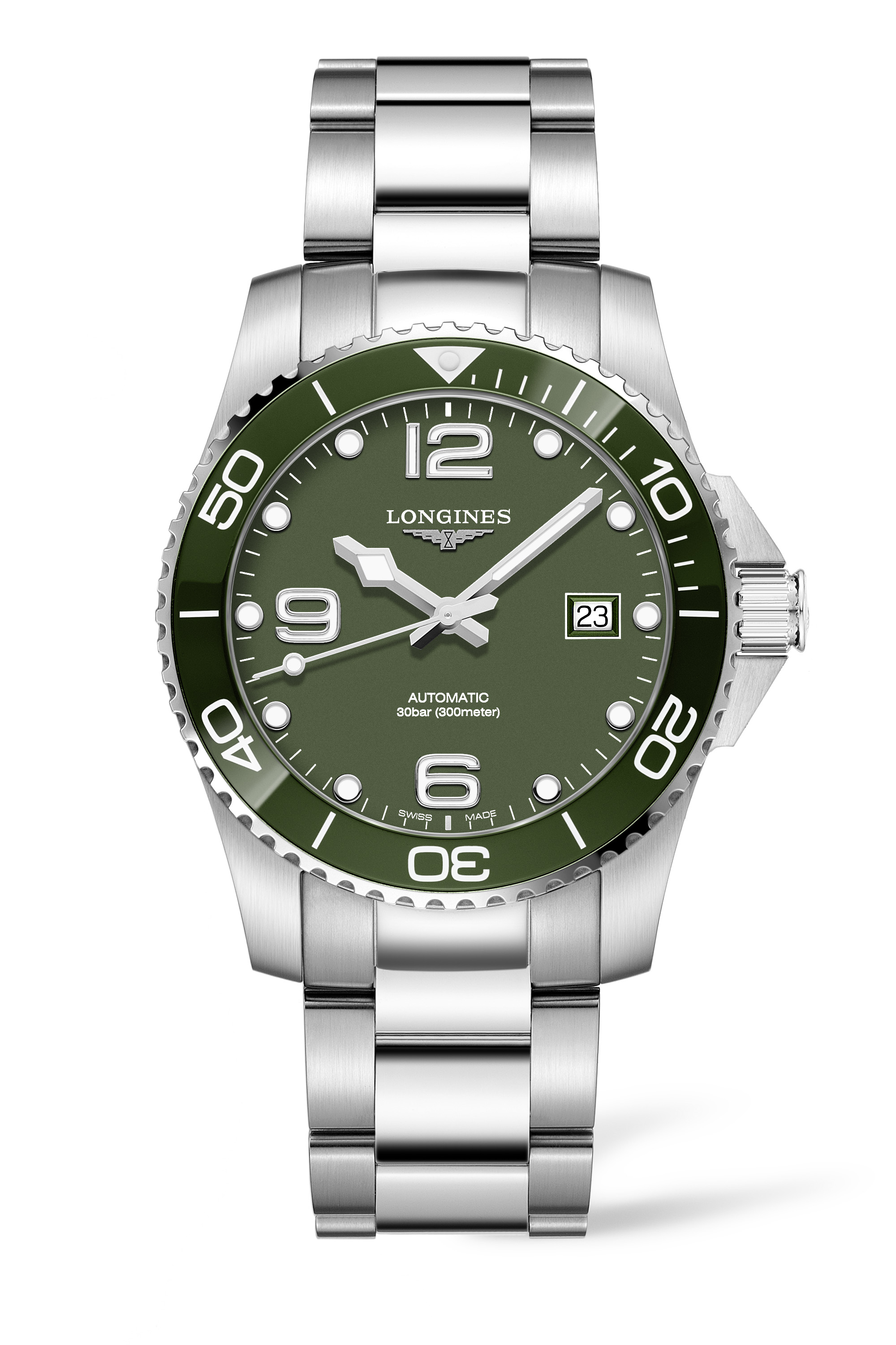 Longines HydroConquest Green