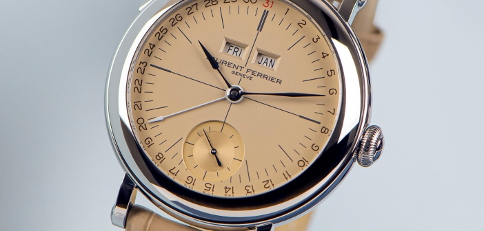 Laurent Ferrier Galet Annual Calendar School Piece «Vintage»