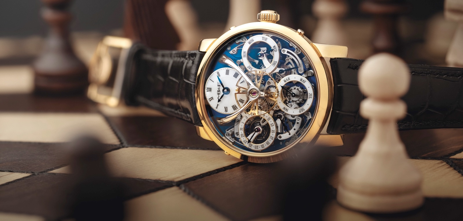 MB&F Legacy Machine Perpetual Yellow Gold Cover