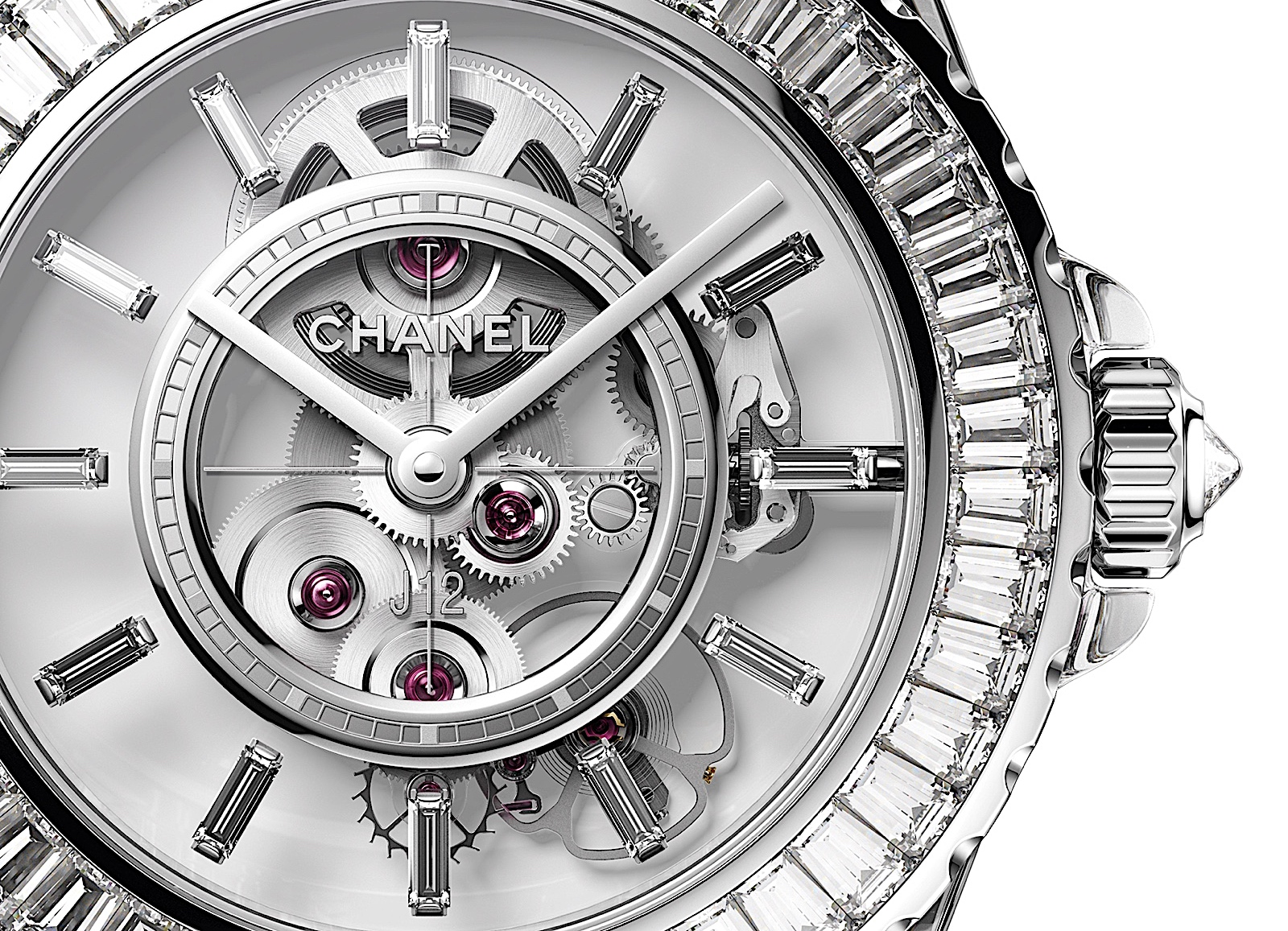 Chanel J12 X-RAY - calibre 3.1 detail