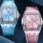 Hublot Spirit of Big Bang Light Blue & Pink Ceramic