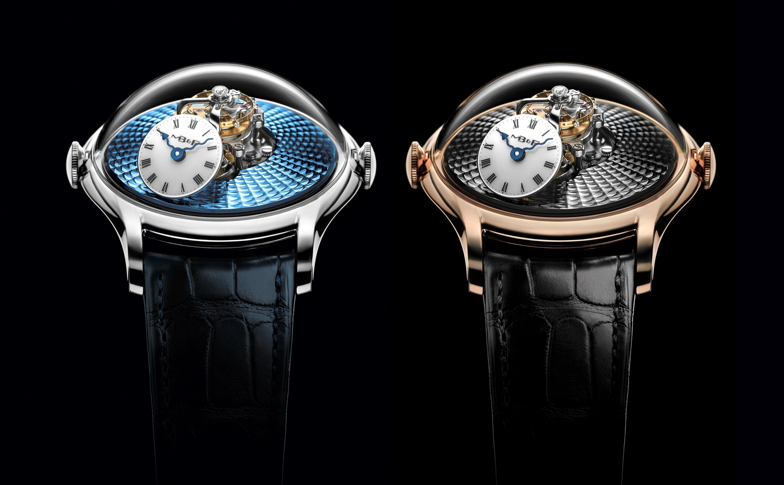 MB&F Legacy Machine FlyingT 2020 - duo