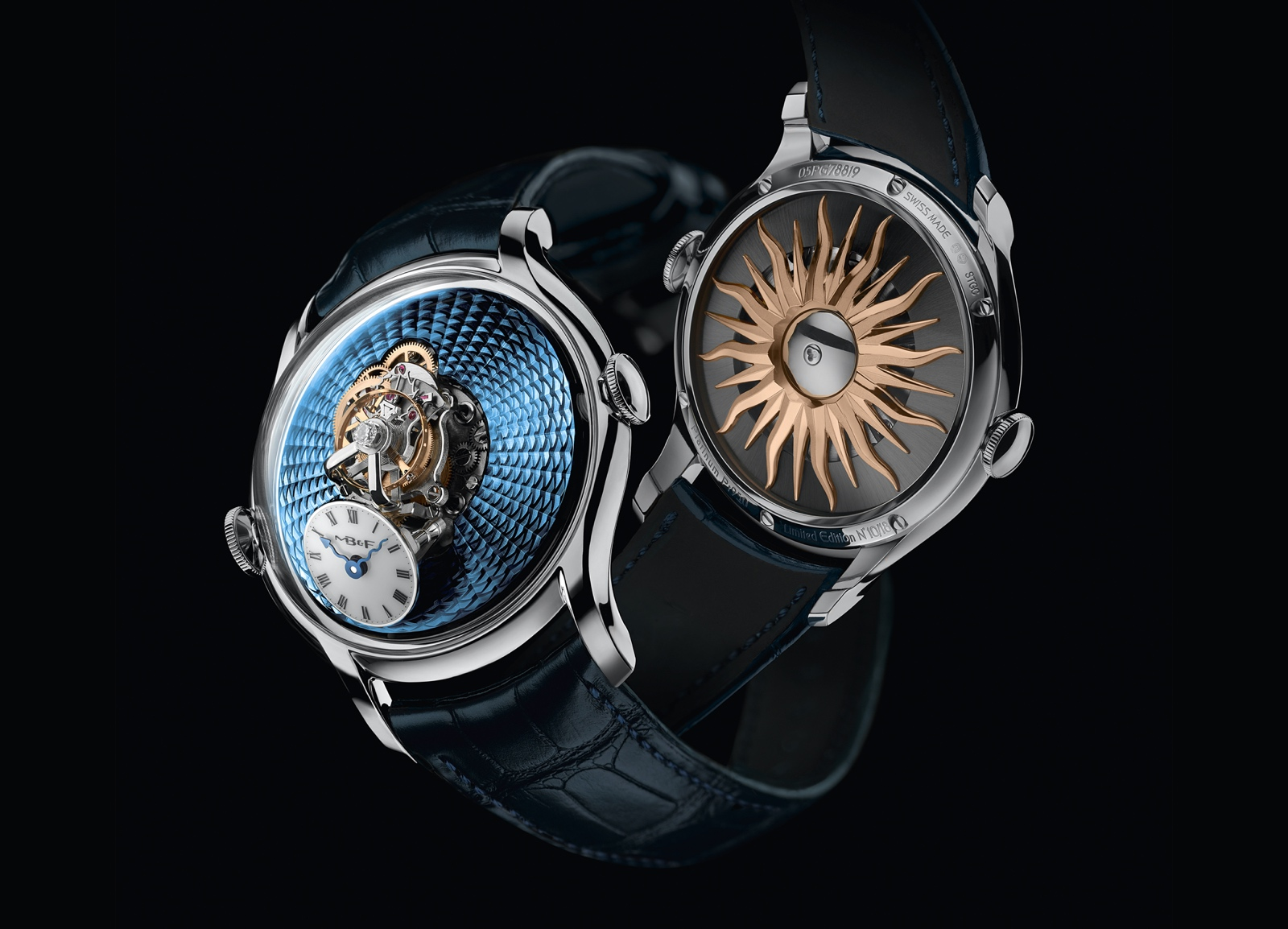 MB&F Legacy Machine FlyingT 2020 - platinum