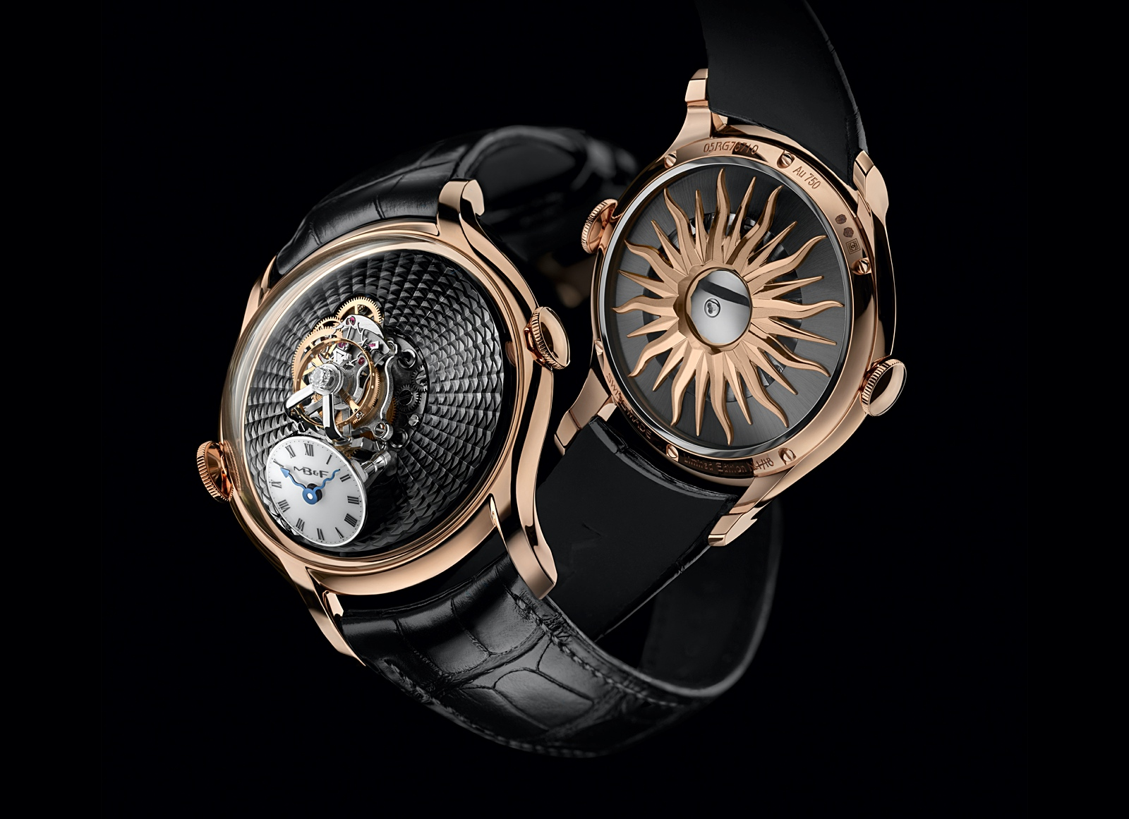 MB&F Legacy Machine FlyingT 2020 - red gold