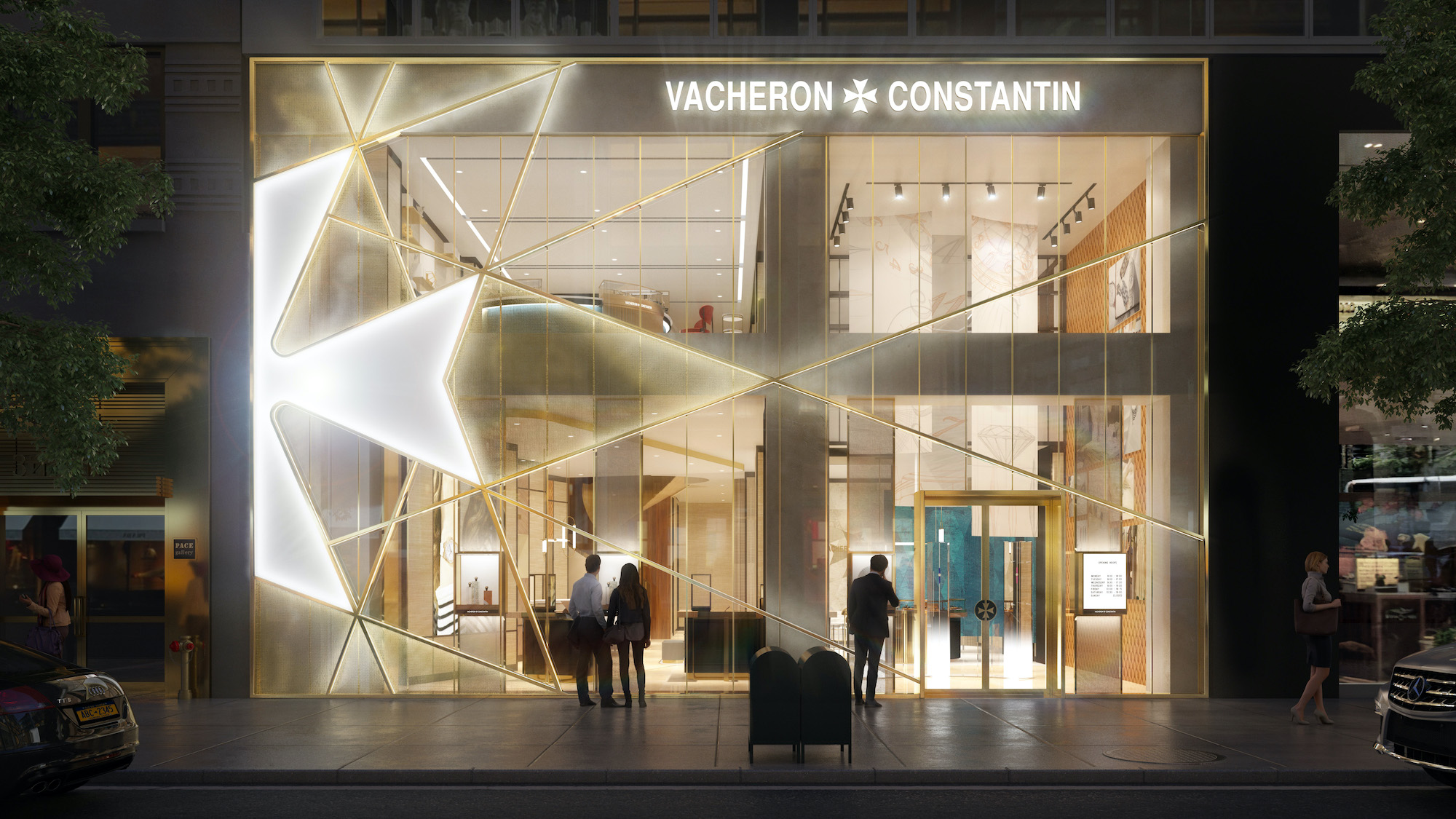 Nueva boutique Vacheron Constantin en Manhattan - night