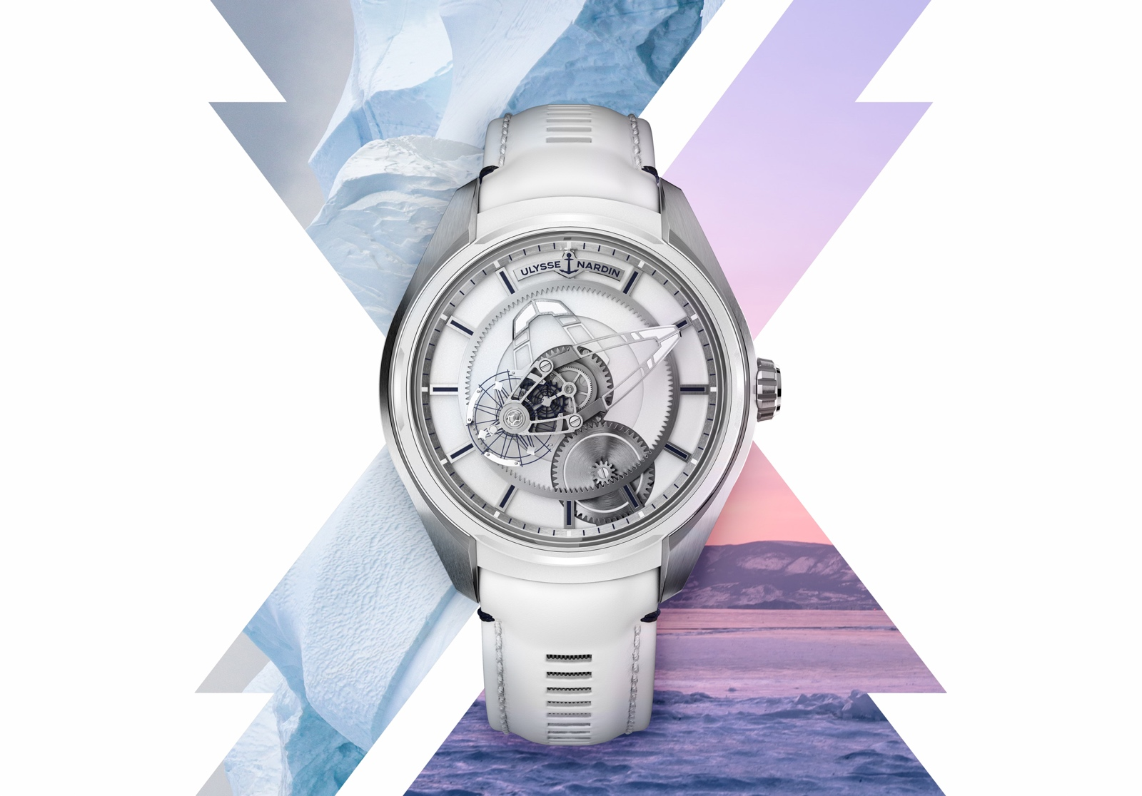 Ulysse Nardin Freak X Ice & Fire - Ice