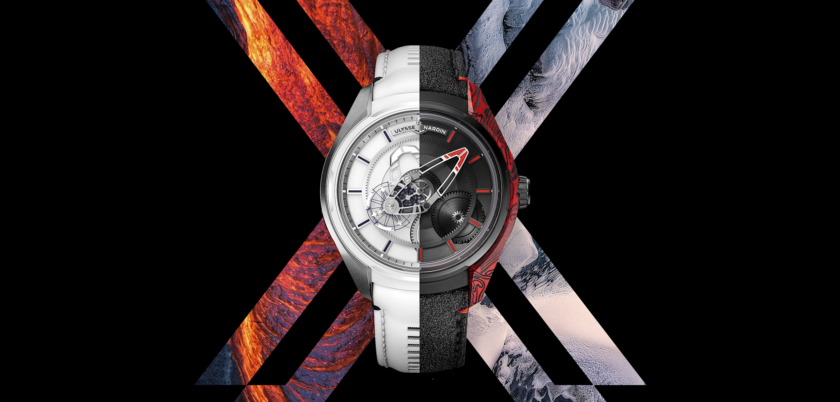 Ulysse Nardin Freak X Ice & Fire - cover