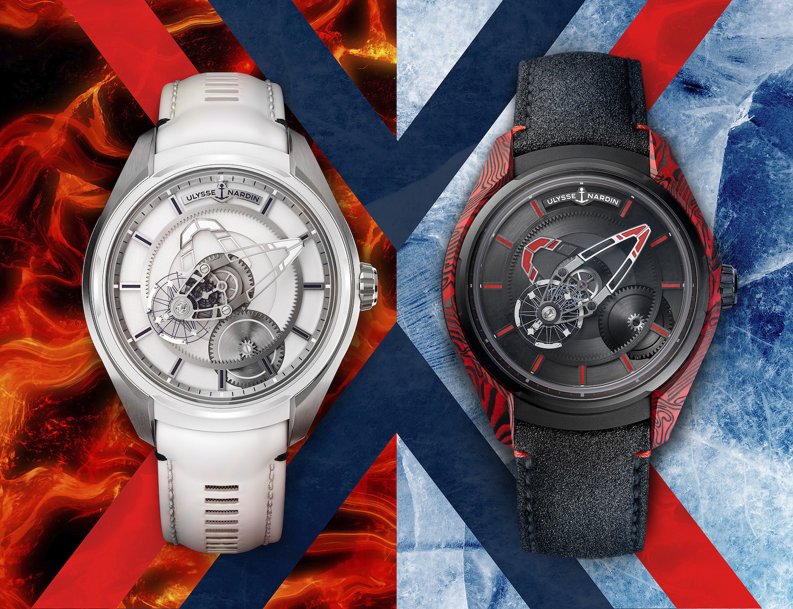 Ulysse Nardin Freak X Ice & Fire - duo color