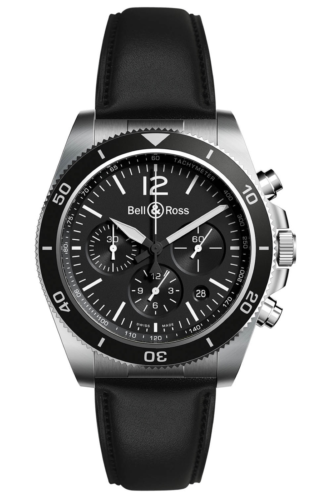 Bell & Ross BR V3-94 Black Steel