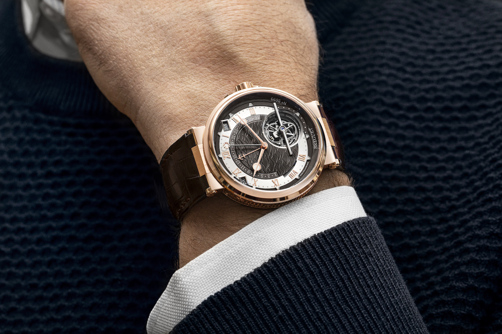 Breguet Marine Tourbillon Equation Marchante 5887 - lifestyle
