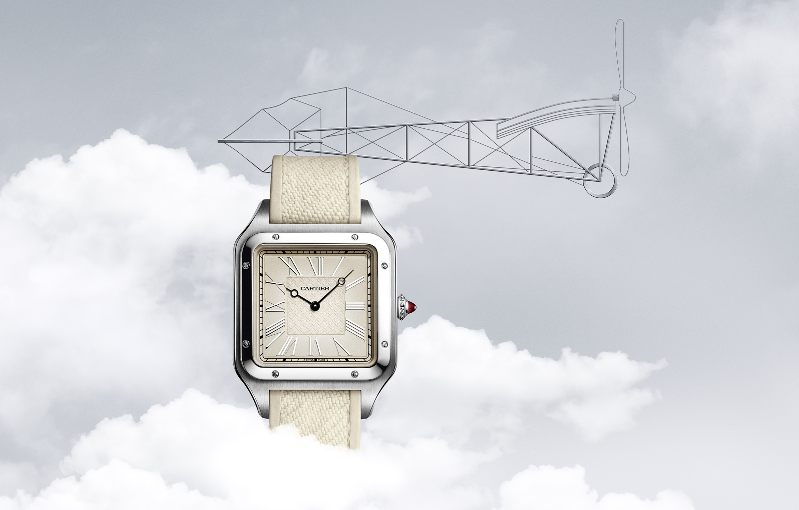 Cartier Santos-Dumont Limited-Editions - La Demoiselle