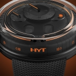 HYT en Watches & Wonders Geneva: H0 Black Fluid
