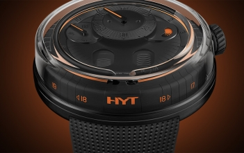 HYT en Watches & Wonders Geneva: H0 Black Fluid
