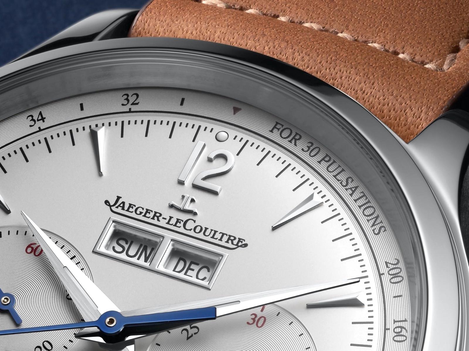 Jaeger-LeCoultre en Watches & Wonders Geneva 2020 - Master Control Calendar detalle