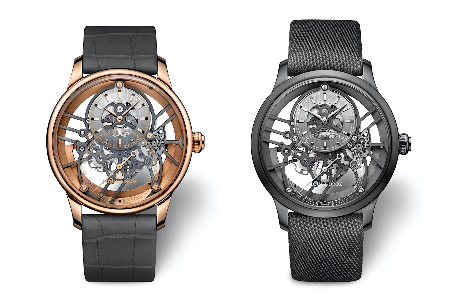 Jaquet Droz Grande Seconde Skelet-One 2020 - duo