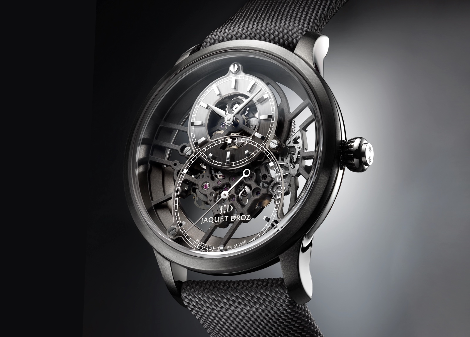 Jaquet Droz Grande Seconde Skelet-One 2020 - plasma ceramic