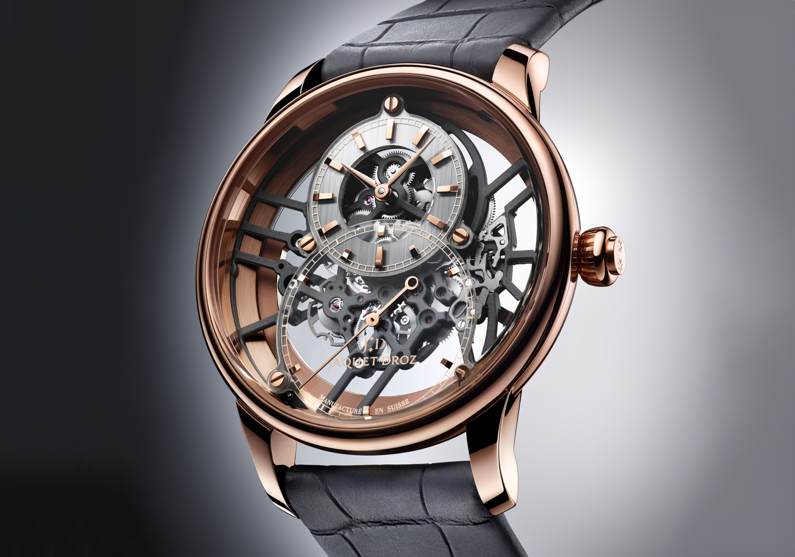Jaquet Droz Grande Seconde Skelet-One 2020 - rose gold