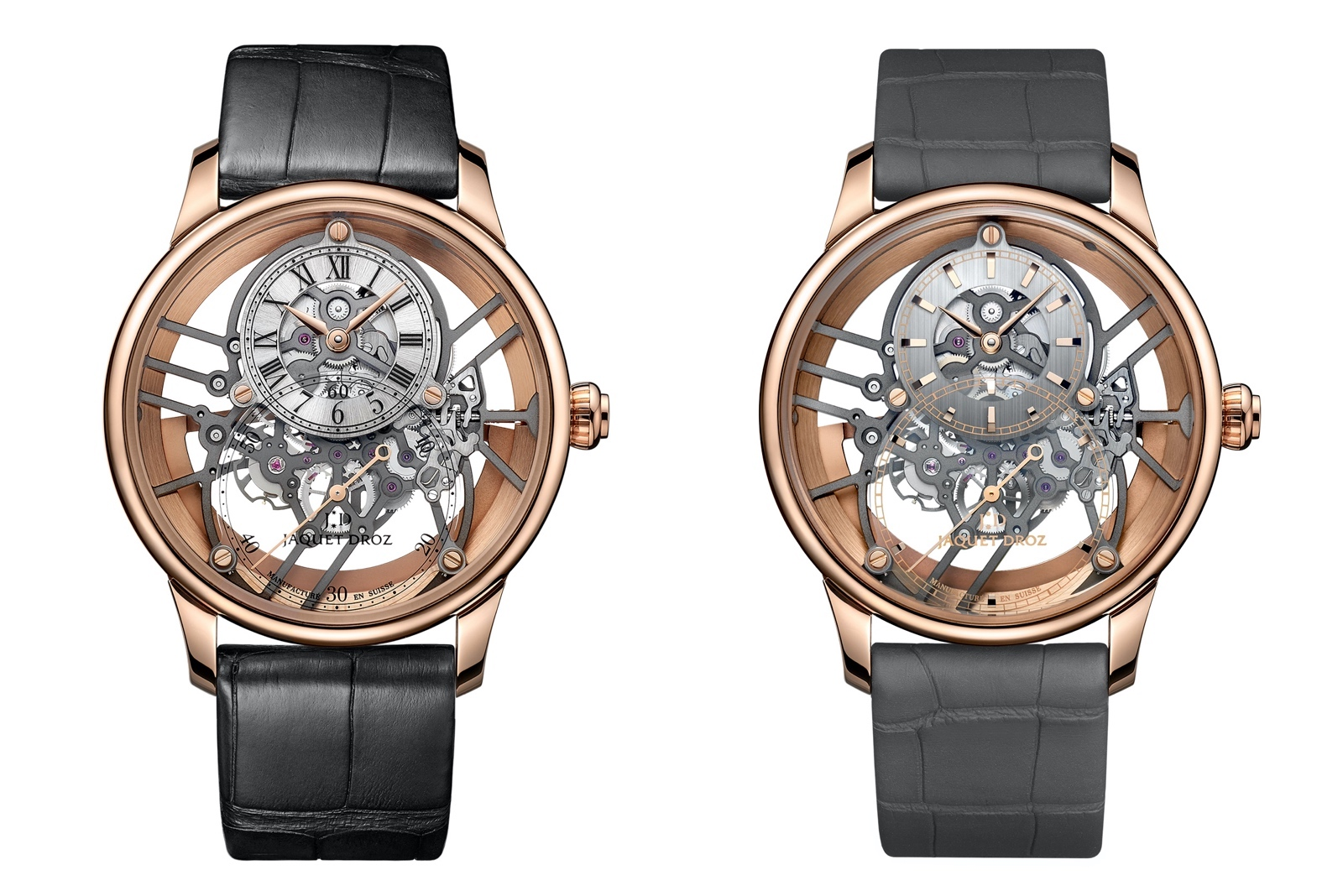 Jaquet Droz Grande Seconde Skelet-One 2020 - rose gold duo