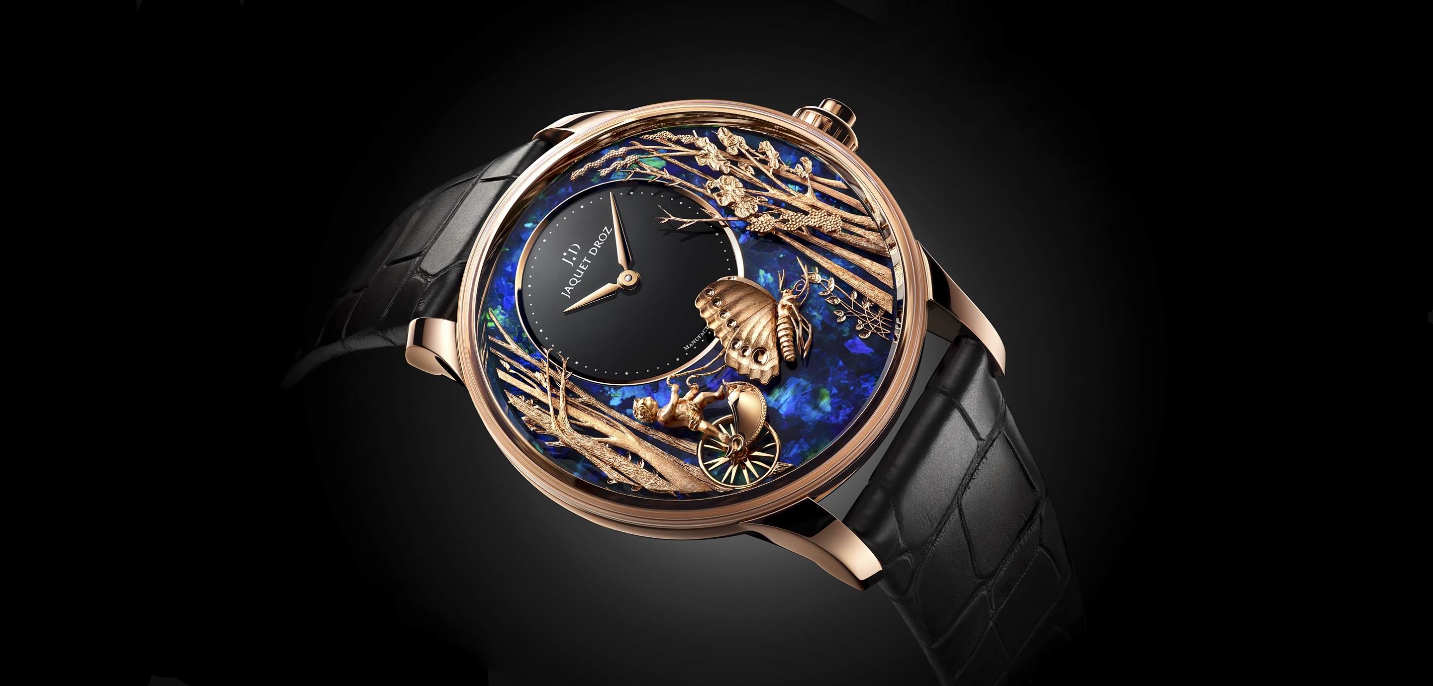Jaquet Droz Loving Butterfly Automaton - cover 2