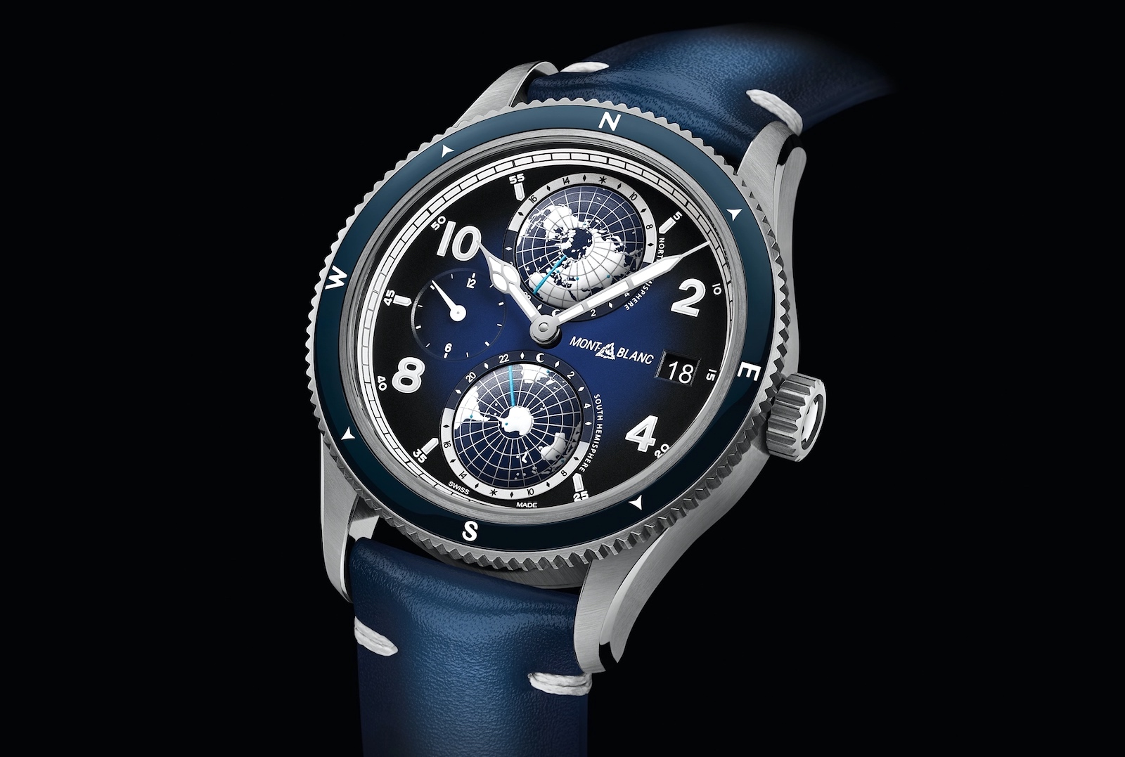 Montblanc en Watches & Wonders Geneva 2020 - 1858 Geosphere