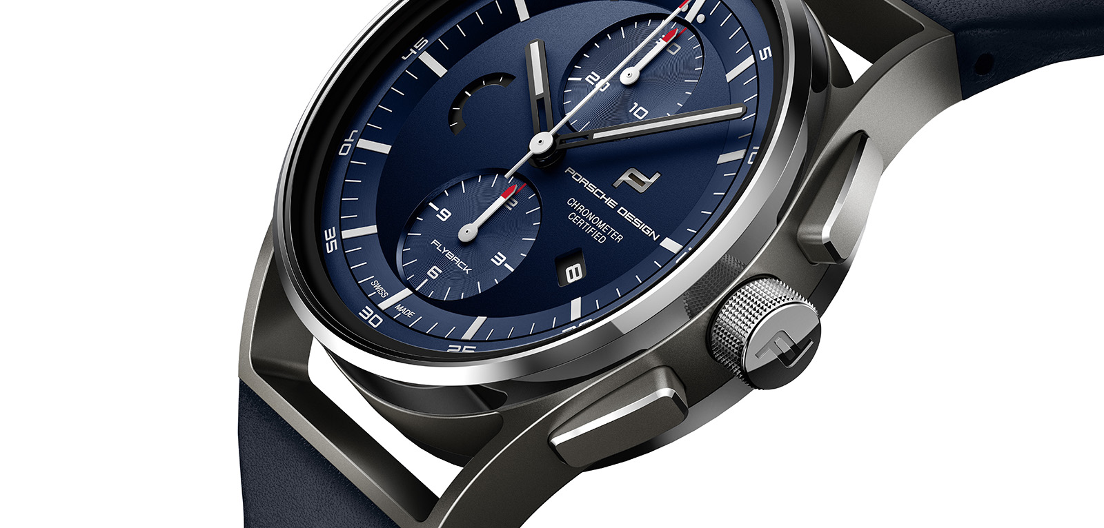 Porsche Design 1919 Chronotimer Flyback Blue