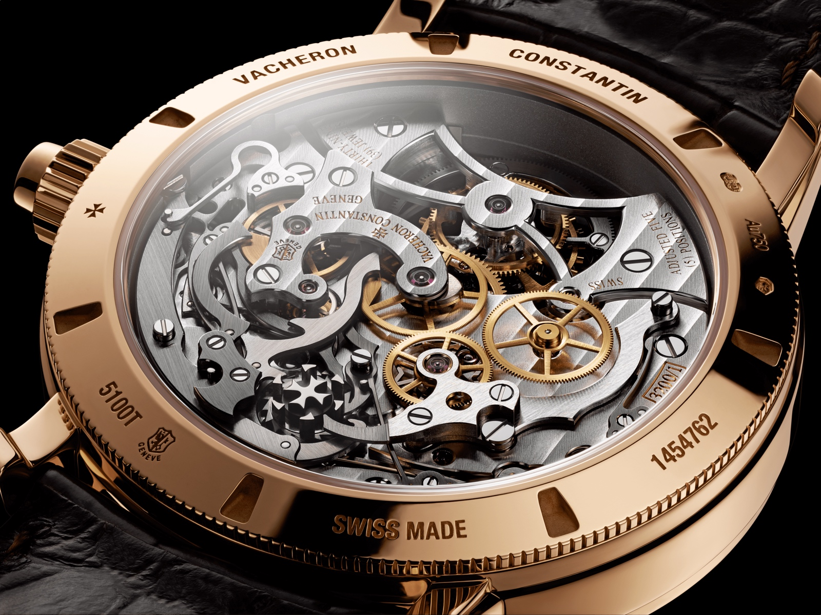Vacheron Constantin Traditionnelle Tourbillon Chronographe Monopulsante - back