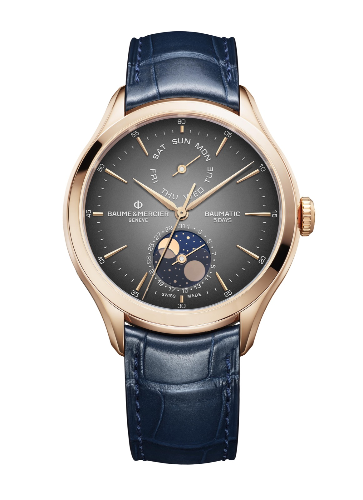 Baume et Mercier Baumatic Day-Date Moon Phase