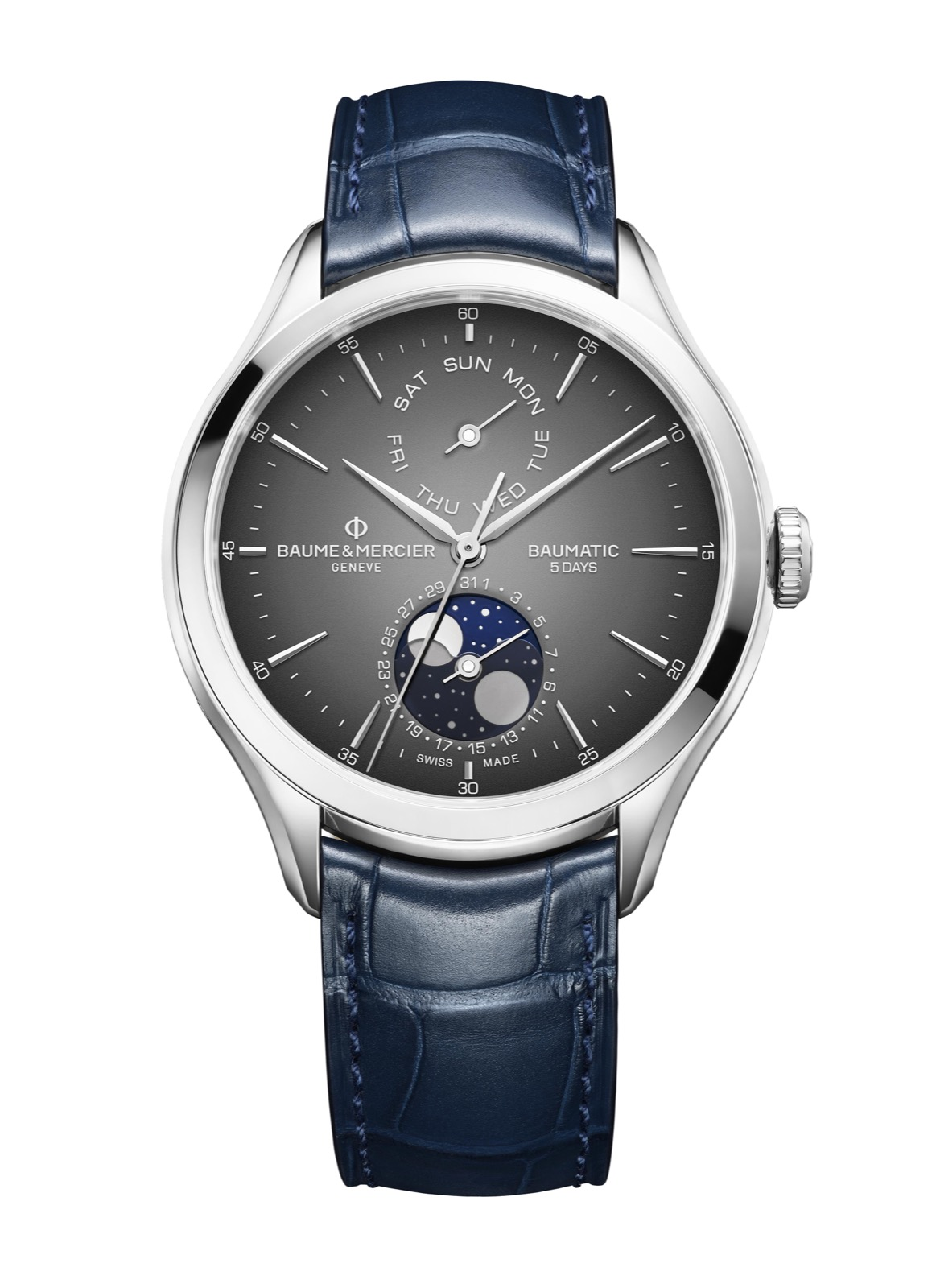 Baume et Mercier Baumatic Day-Date Moon Phase M0A10548