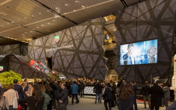 Stand TAG Heuer en Baselworld