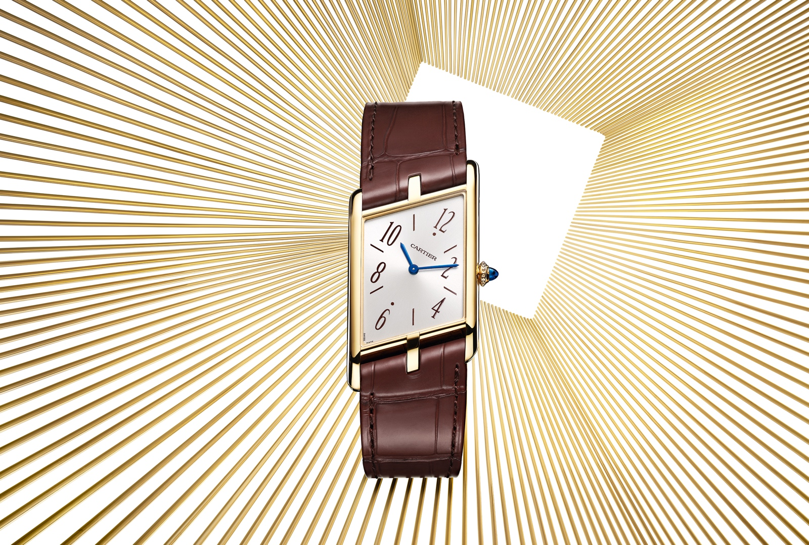 Cartier Tank Asymétrique 2020 - yellow gold