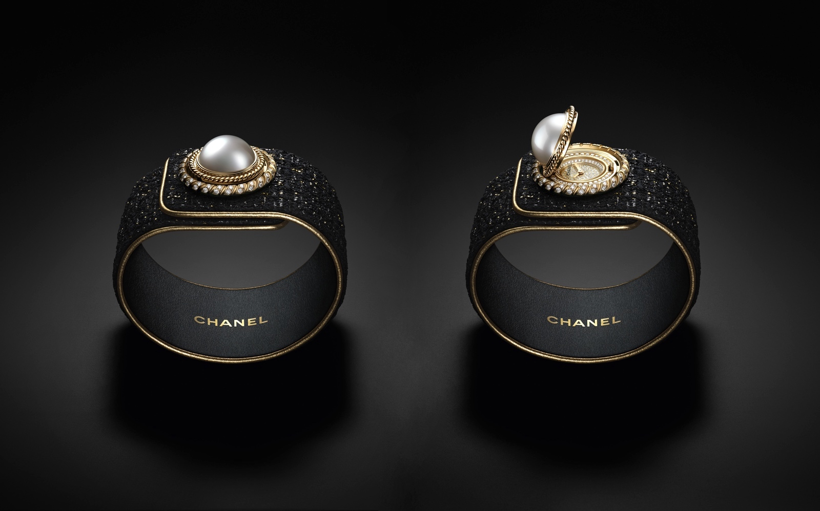 Chanel Mademoiselle Prive Bouton - open-closed