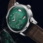Glashütte Original PanoMaticLunar Forest Green, a fondo