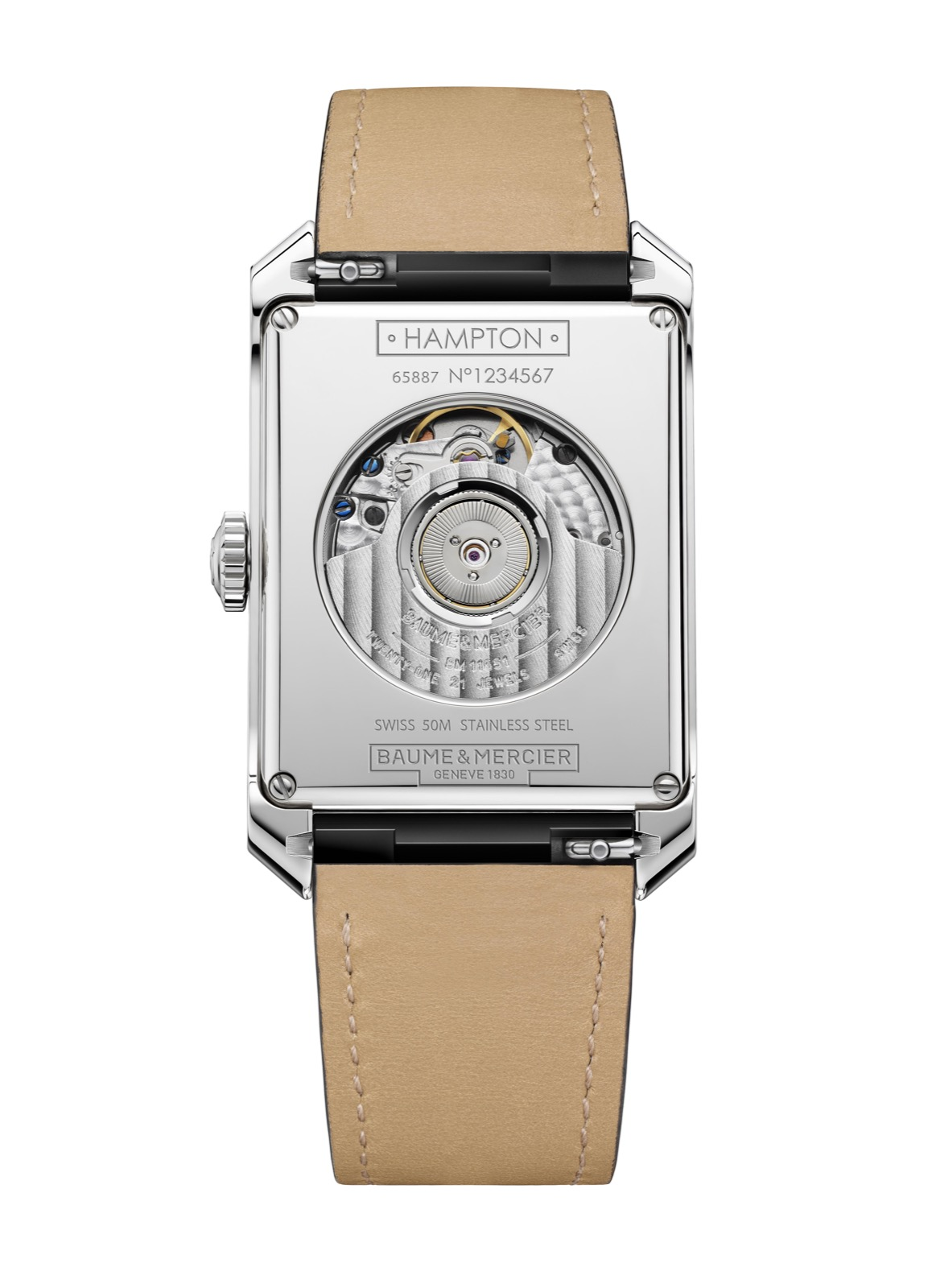 Hampton Automatic Big Date : Dual Time 10523 - Cal. Soprod TT