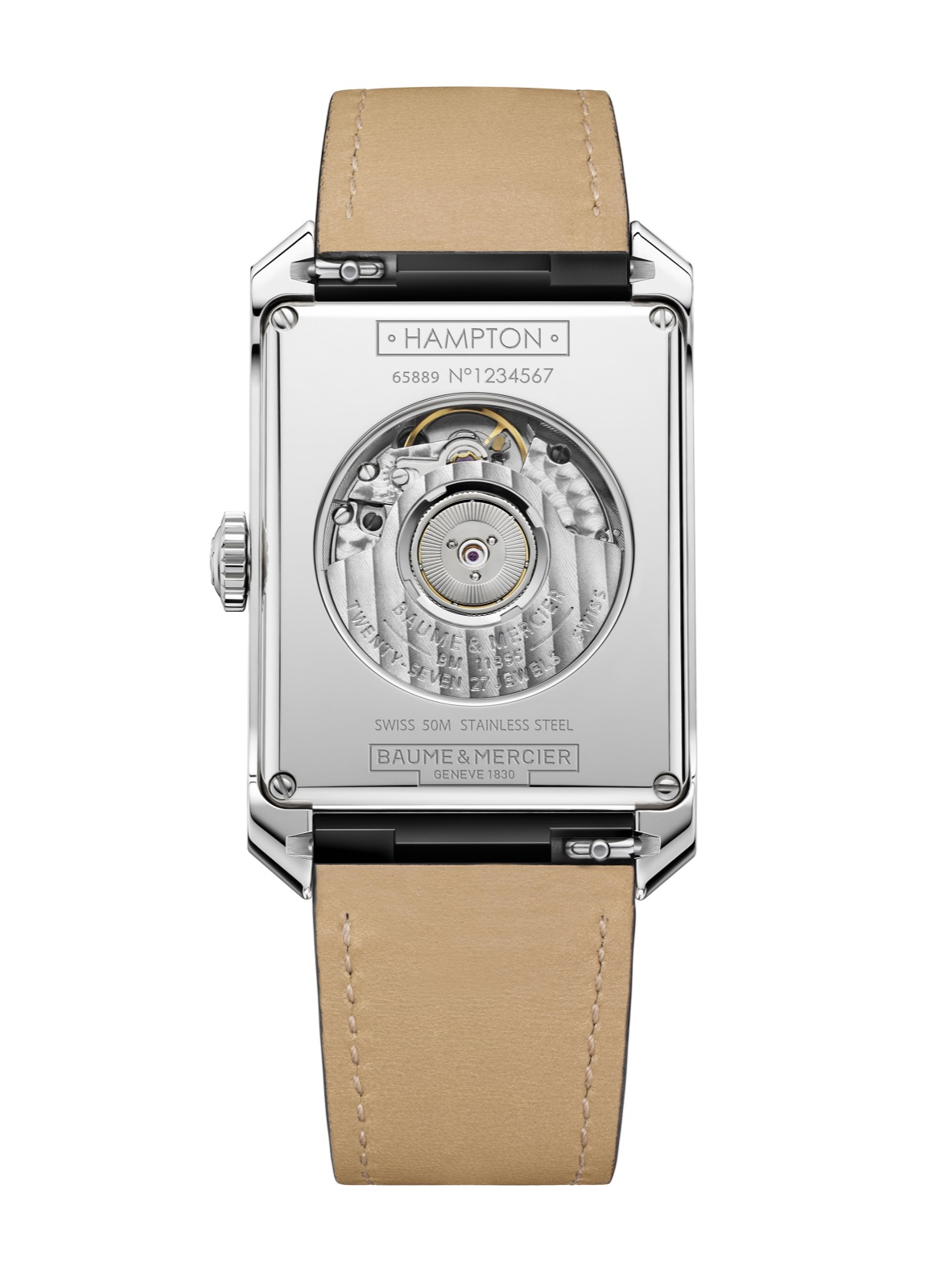 Hampton Automatic Small Seconds & Date 10528 - Cal. ETA 2895
