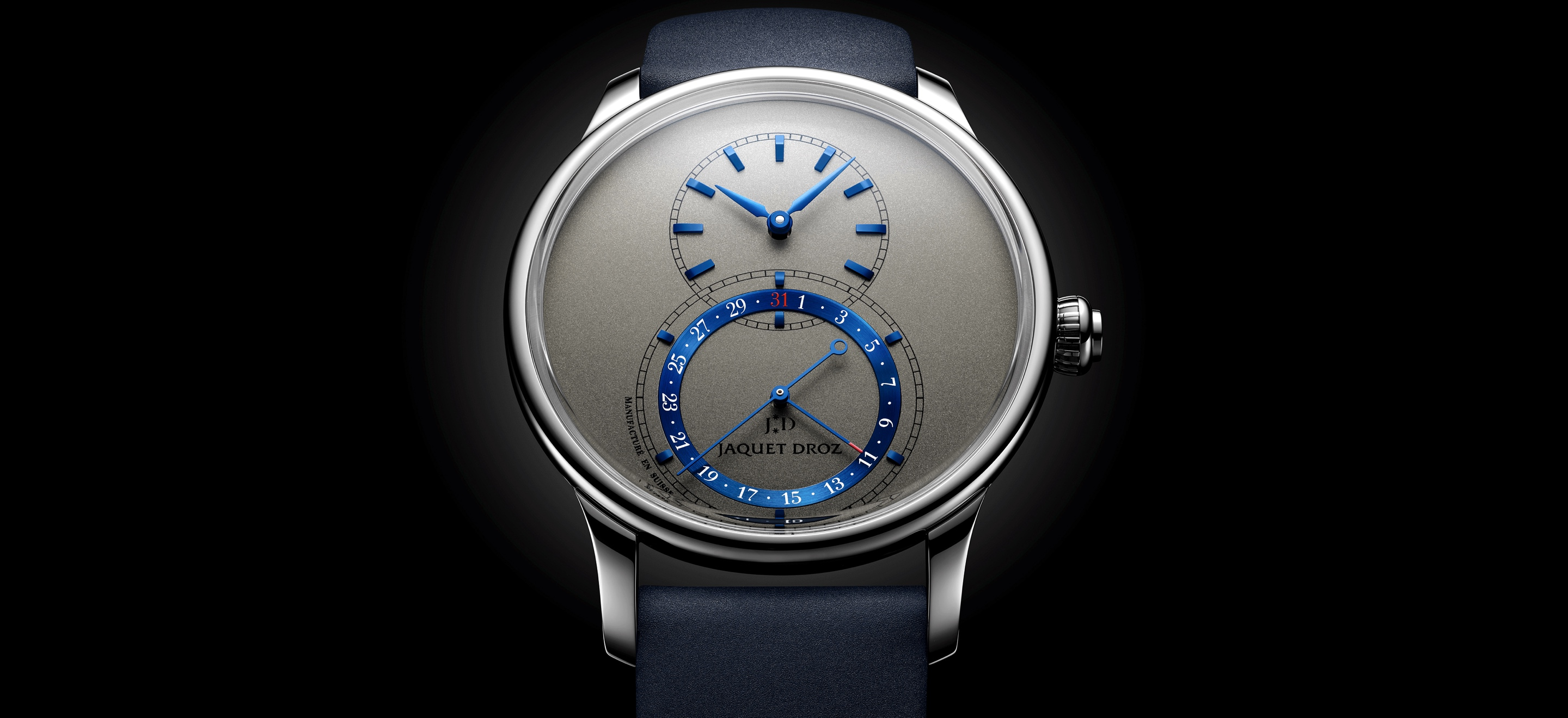 Jaquet Droz Grande Seconde Quantième 41 - cover