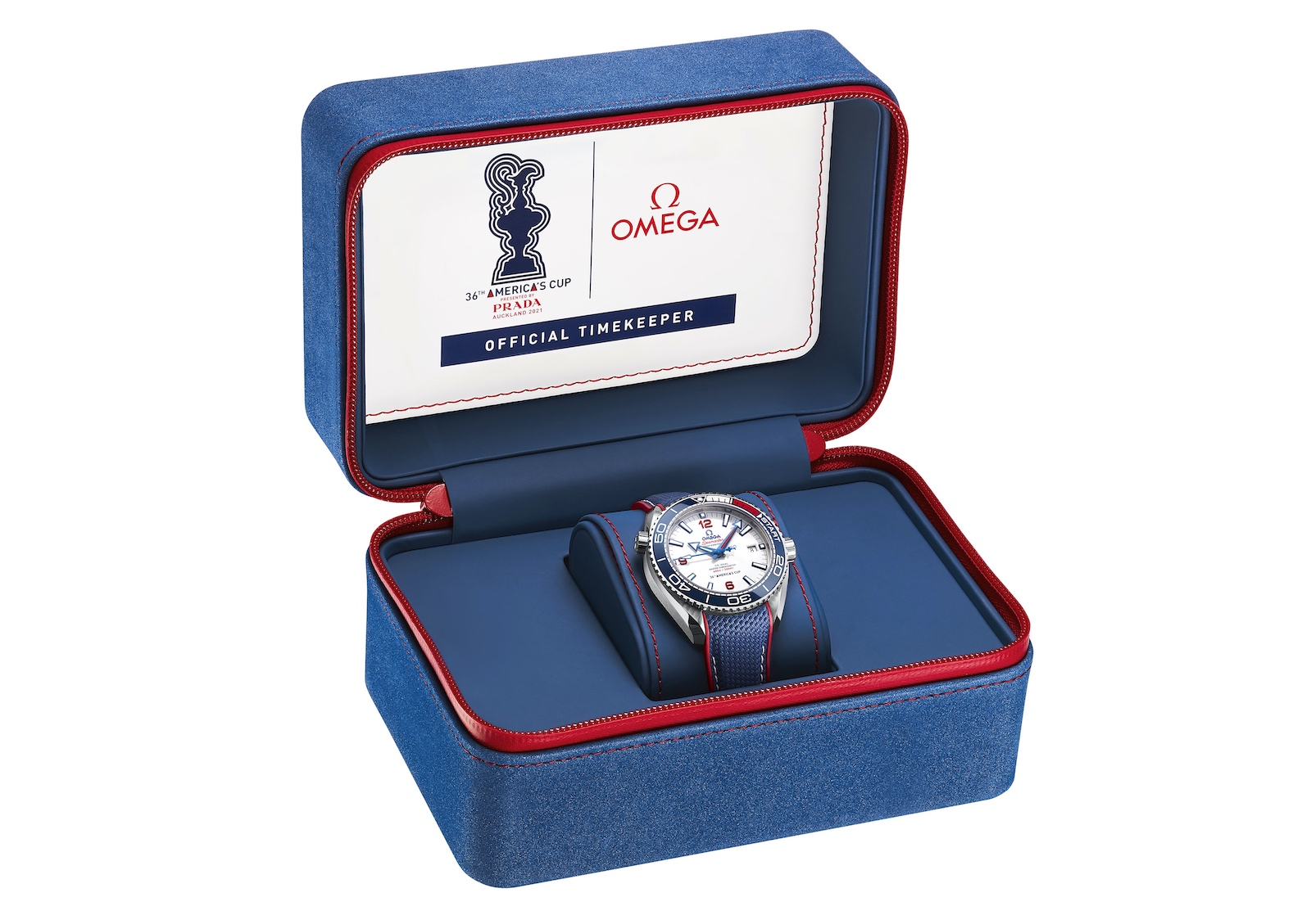 Omega Seamaster Planet Ocean 36th America's Cup - box