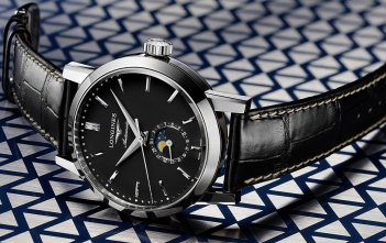 The Longines 1832, disponibles en negro y para mujer