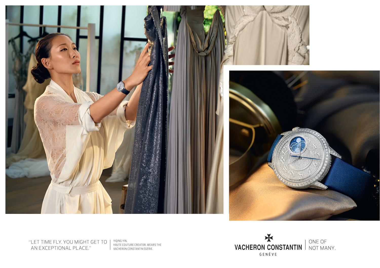 Yiqing Yin y Vacheron Constantin reúnen la Alta Costura y la Alta Relojería - Egerie High Jewelery