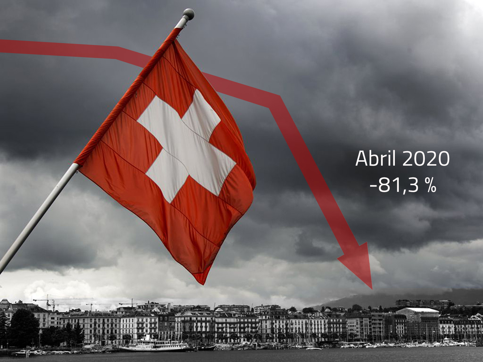 Caída exportaciones relojería suiza abril 2020