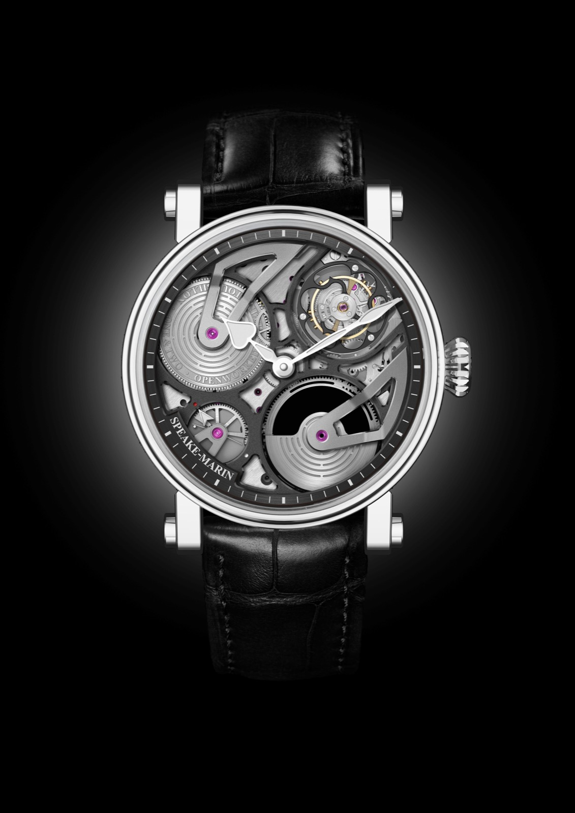 Speake-Marin One&Two Openworked Flying Tourbillon 38 mm