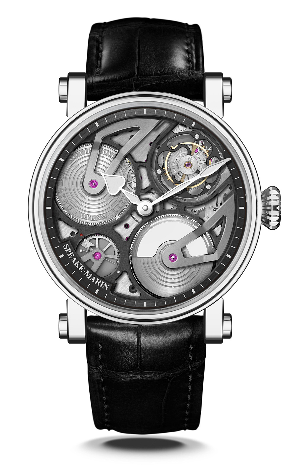 Speake-Marin One&Two Openworked Flying Tourbillon 38mm