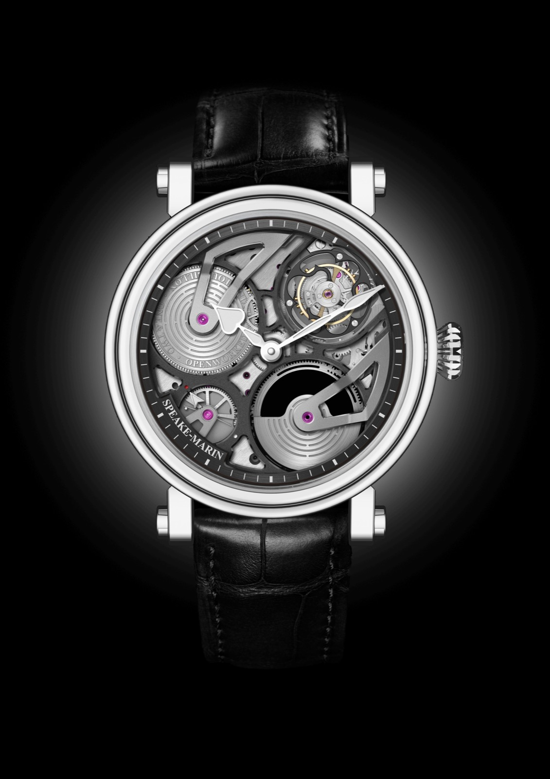 Speake-Marin One&Two Openworked Flying Tourbillon 42mm