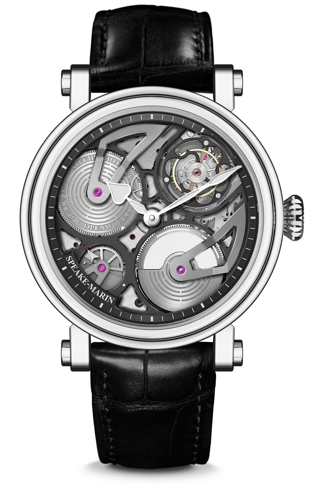 Speake-Marin One&Two Openworked Flying Tourbillon 42 mm