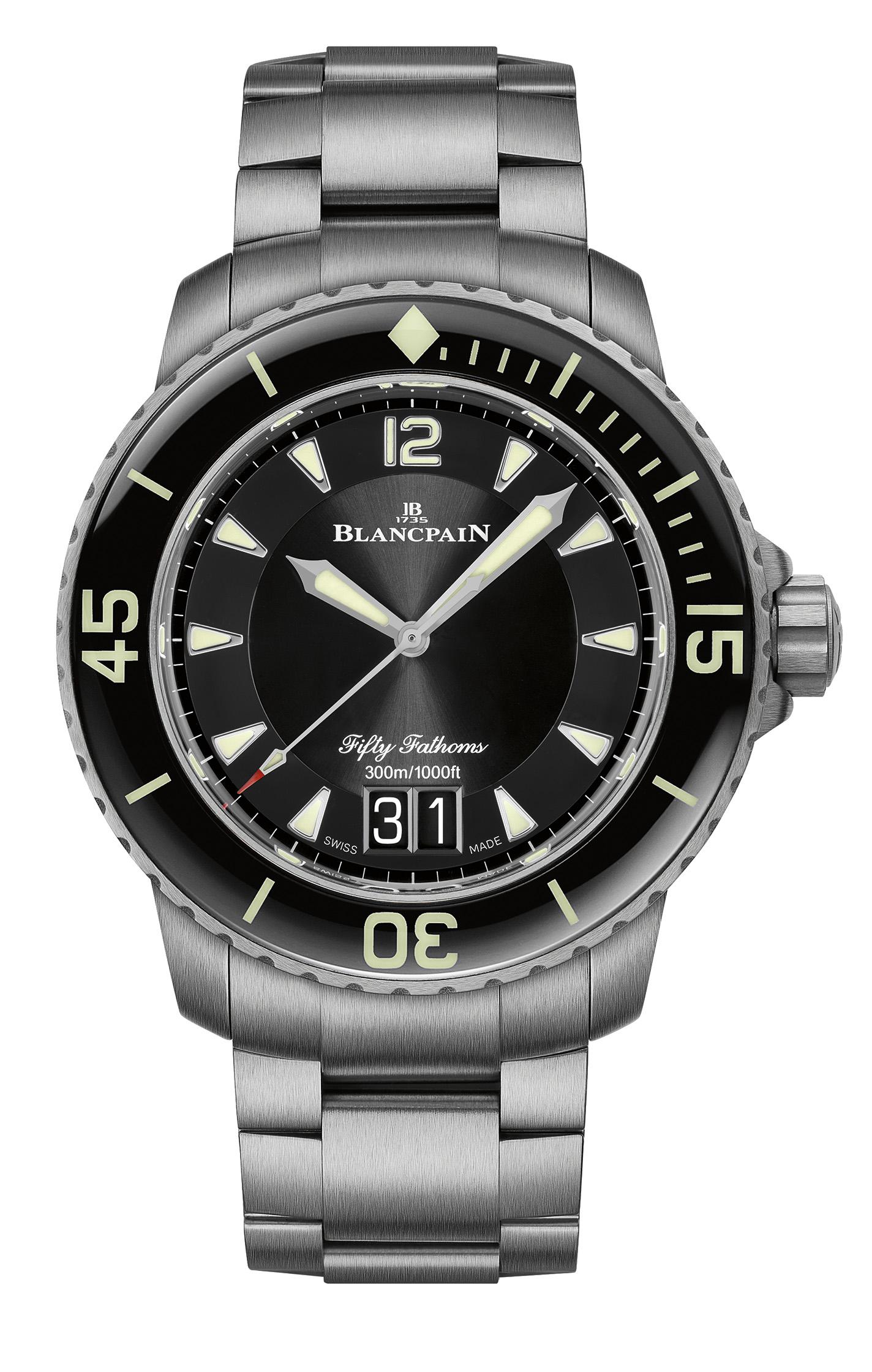 Blancpain Fifty Fathoms titanio