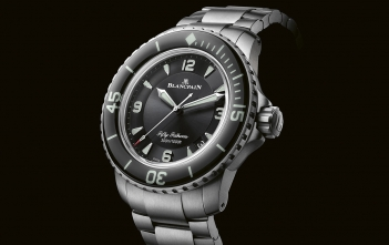 Blancpain Fifty Fathoms titanio
