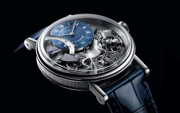 Breguet Tradition Automatique Seconde Rétrograde 7097. Nueva versión azul